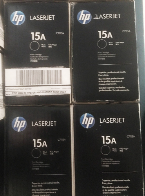 mực in hp laser 15a